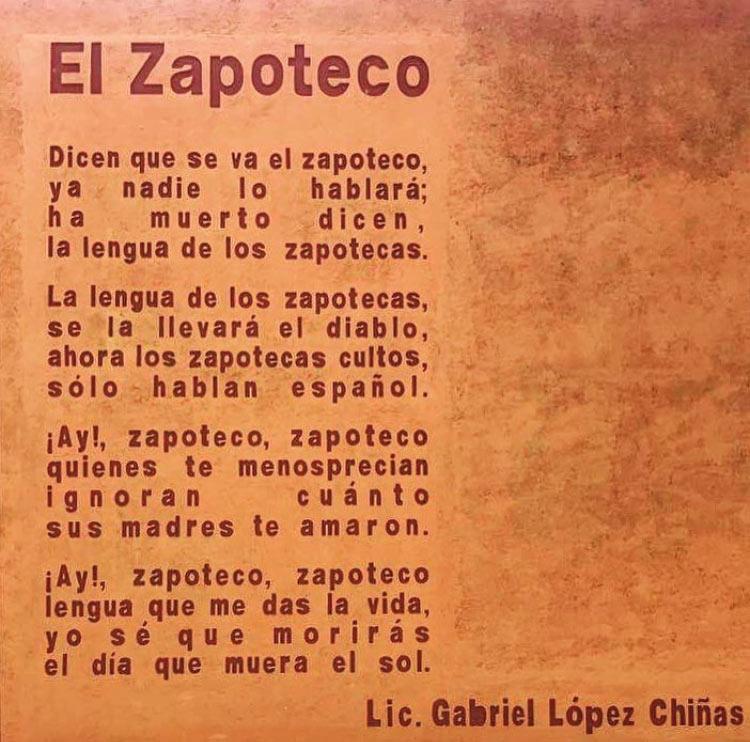 Photo of El Zapoteco poster