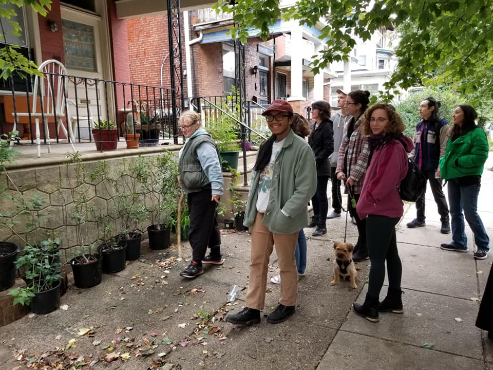 Plant walk at Haverford House