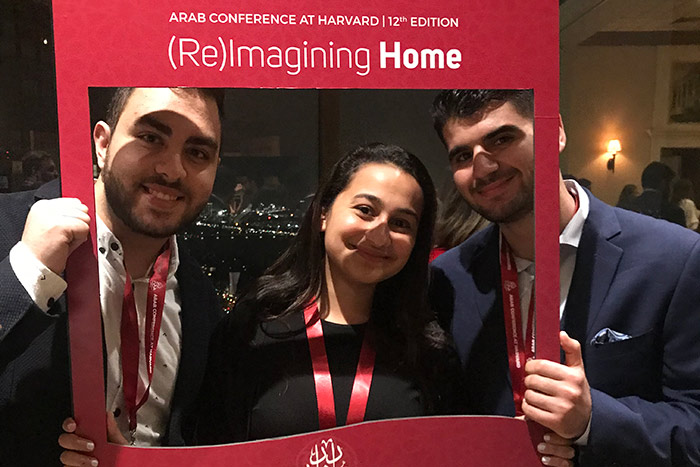 Students at the ReImagining Home conference