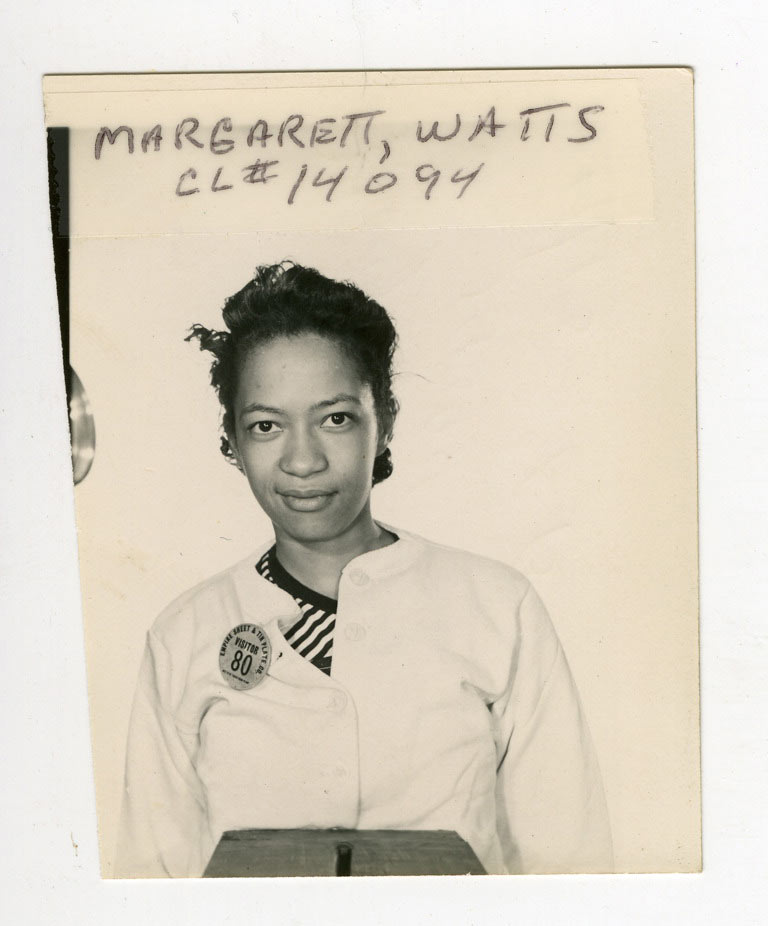 Polaroid of Margarett Watts
