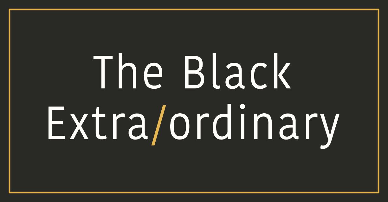 The Black Extra/ordinary