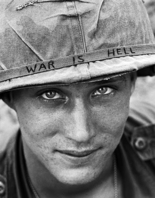 Photo of an American GI in Viet Nam