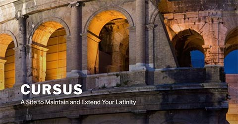 Screenshot of Cursus website