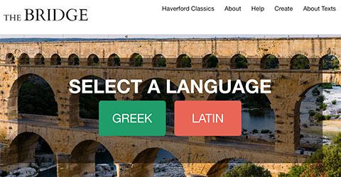 Screenshot of The Bridge website