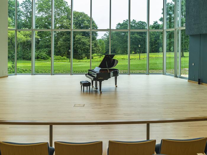 Jaharis recital hall