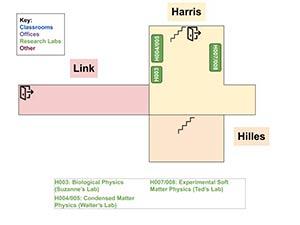 KINSC ground floor map