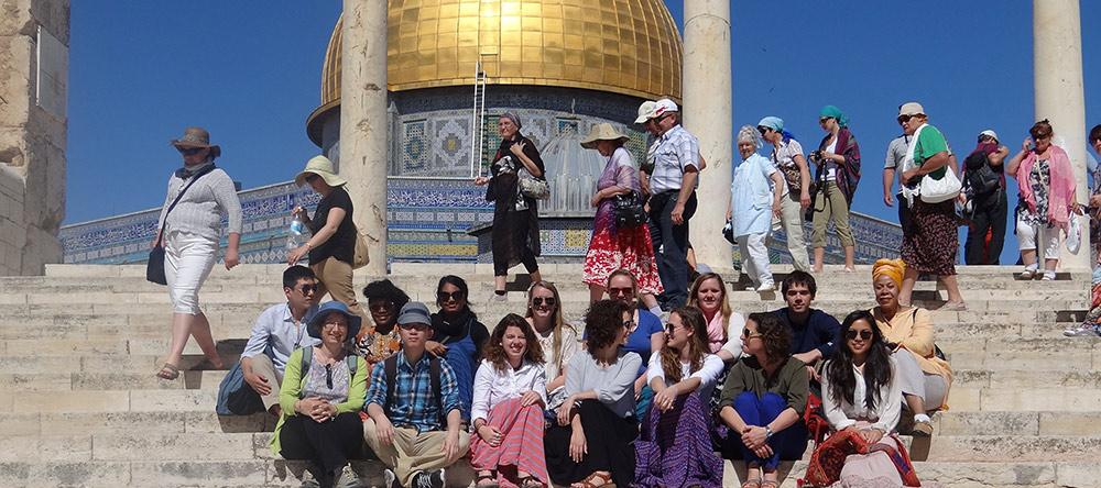 Students in Jerusalem