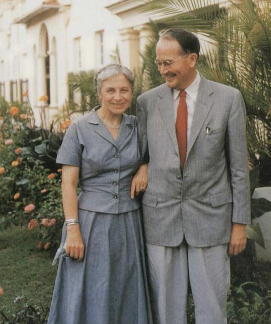 Dorothy and Douglas Steere
