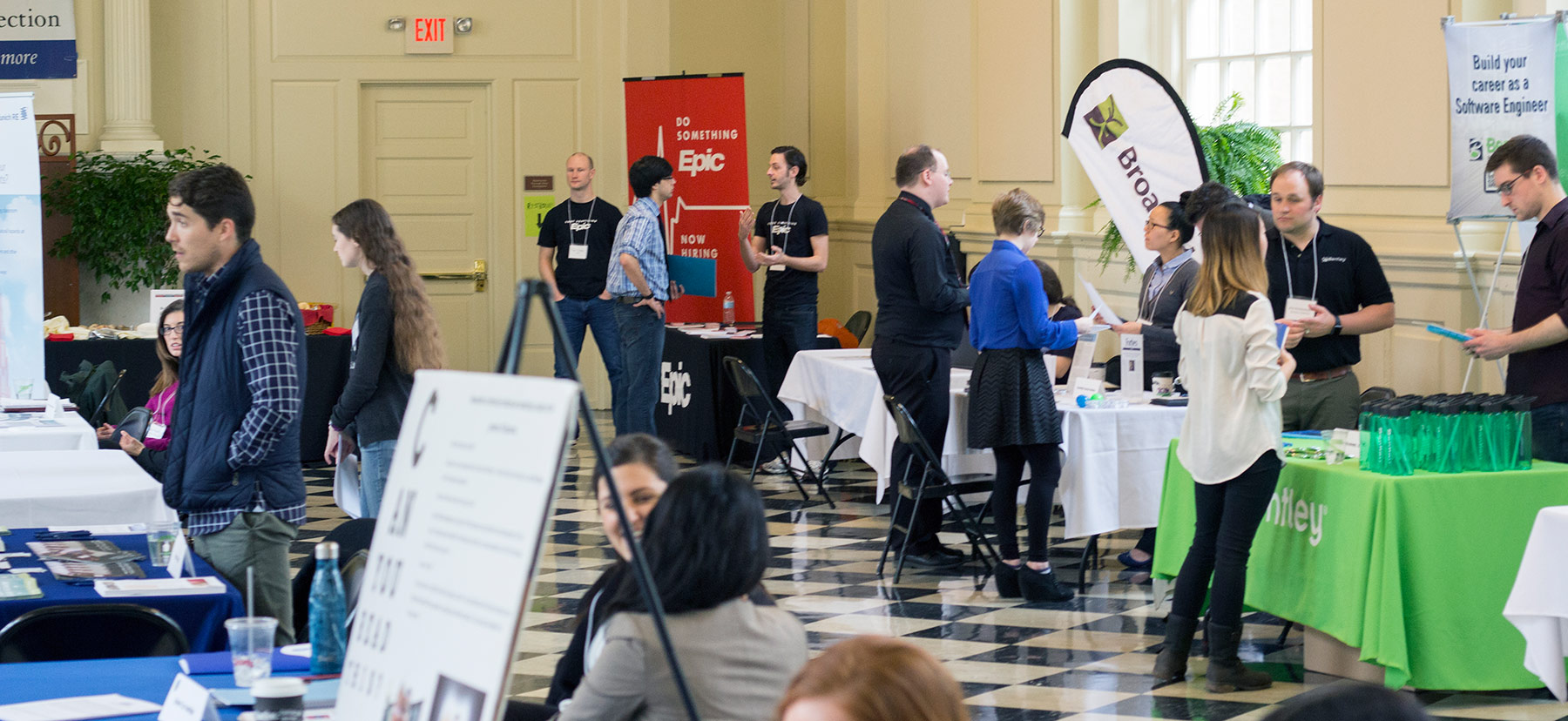 STEM Recruiting Event in Founders Hall