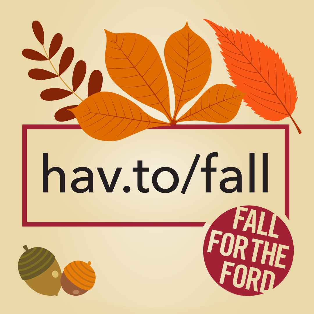 Fall for the Ford!