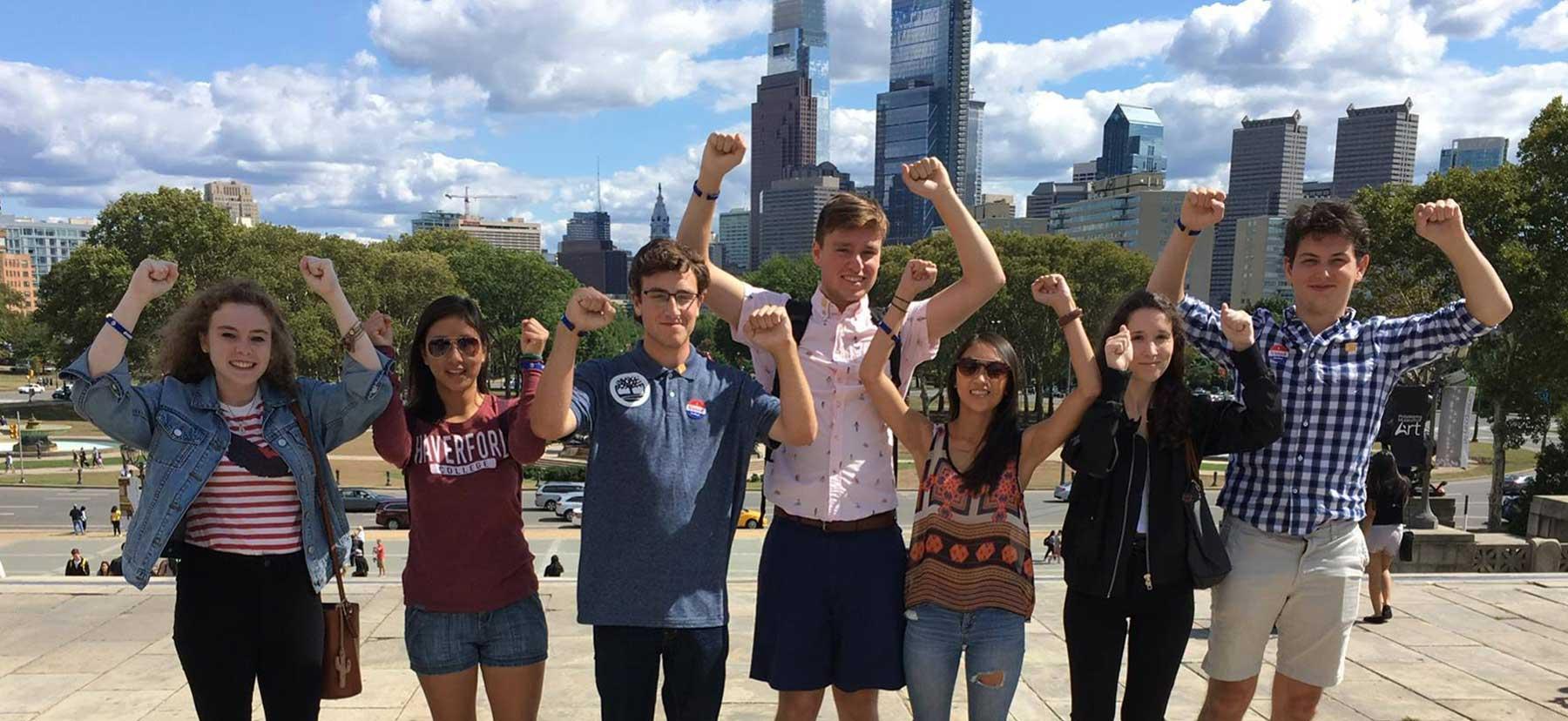 Students in Philadelphia