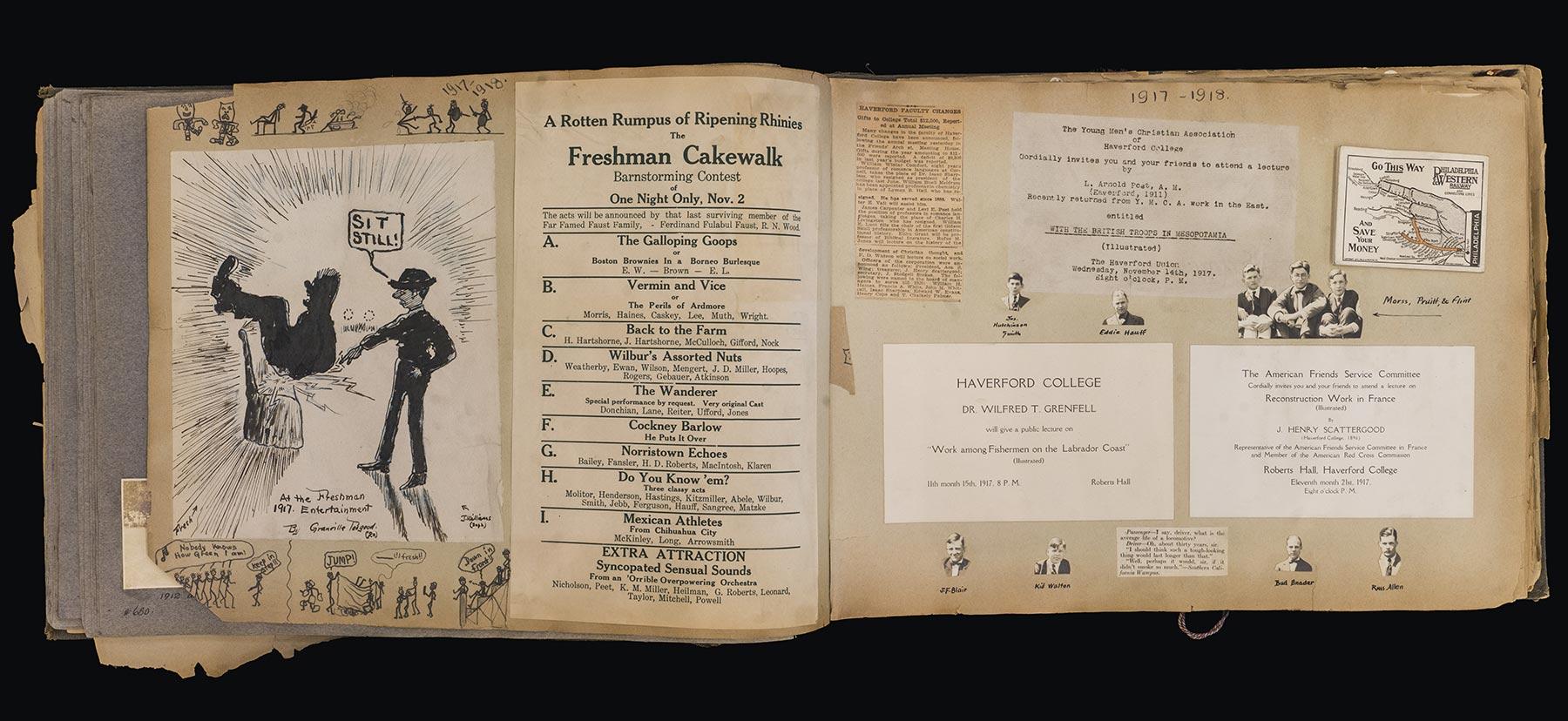 Scrapbook from 1922