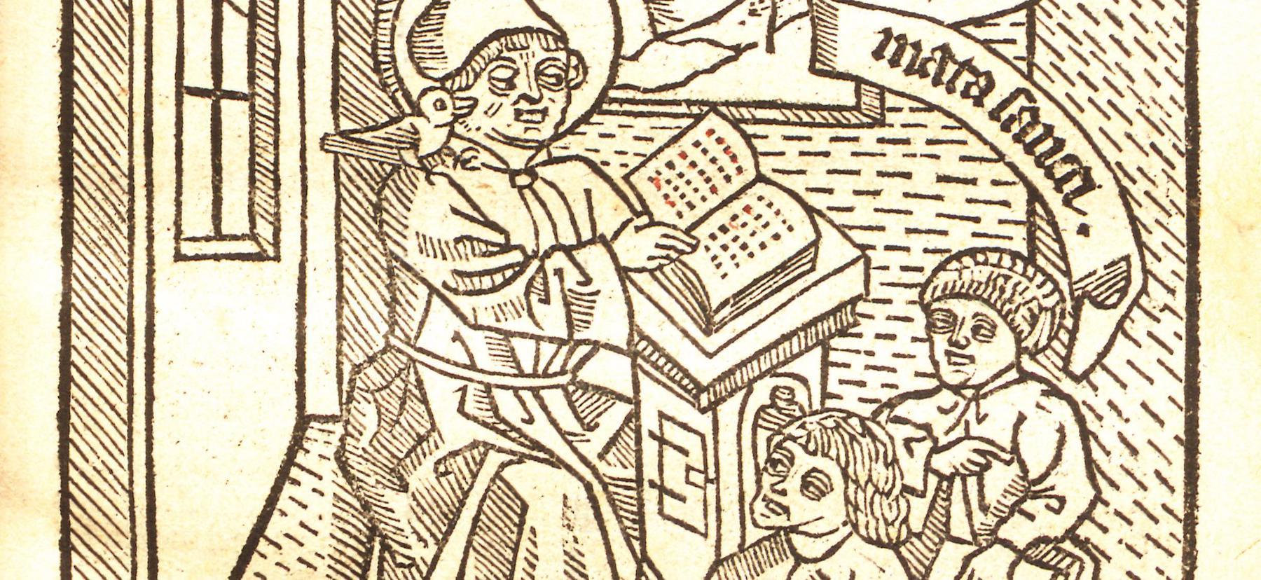 Library print exhibit