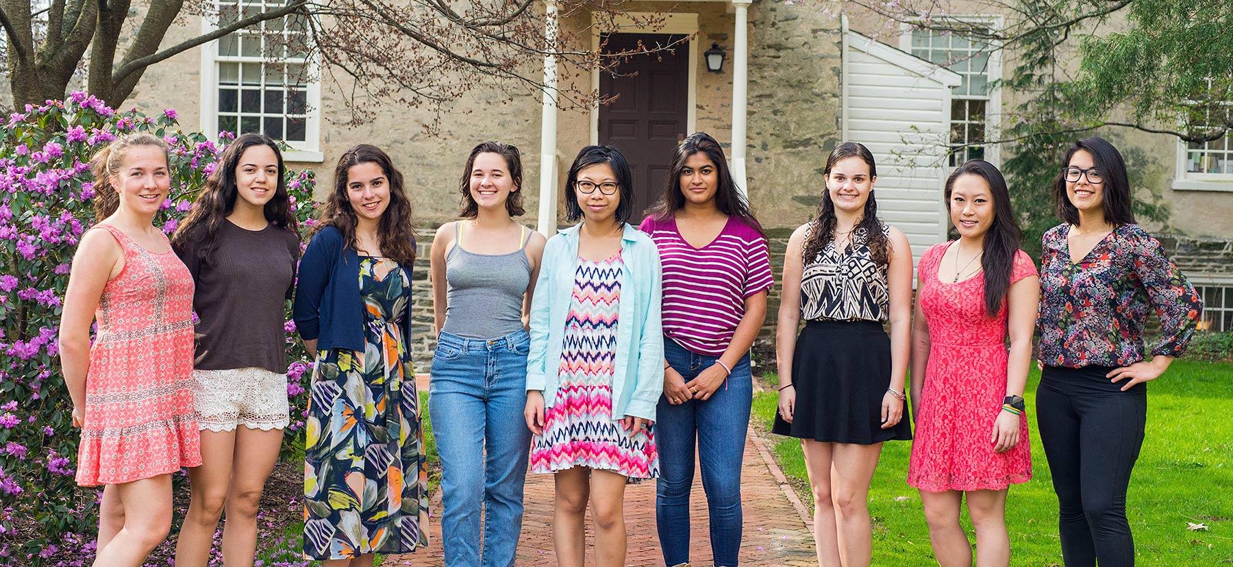 Members of Women in STEM
