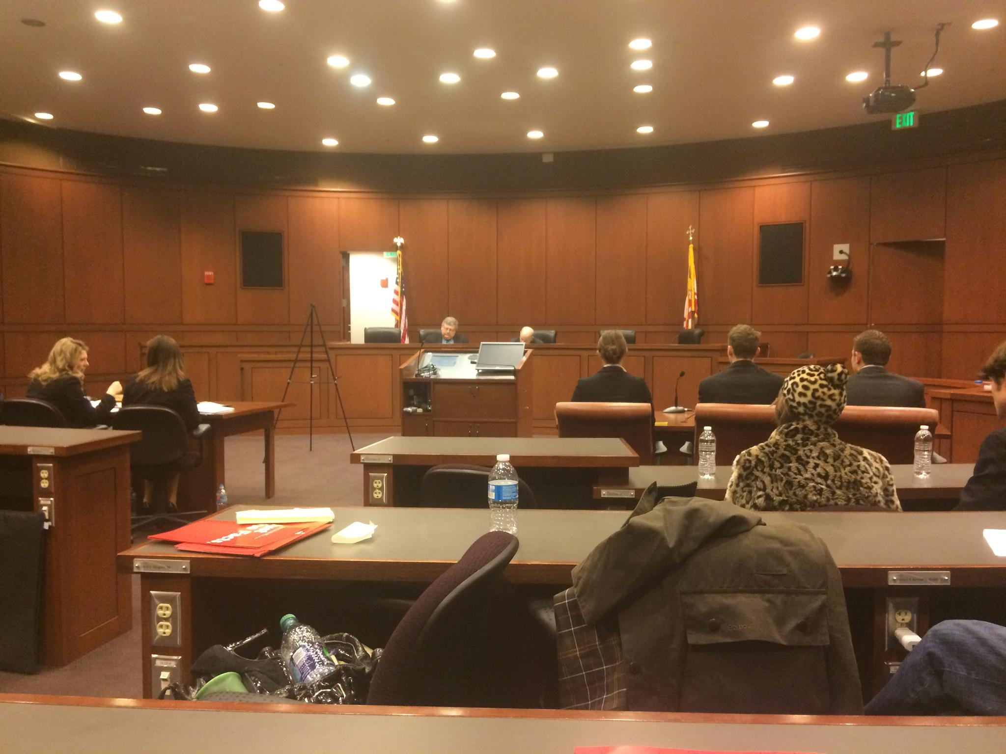 Mock Trial courtroom