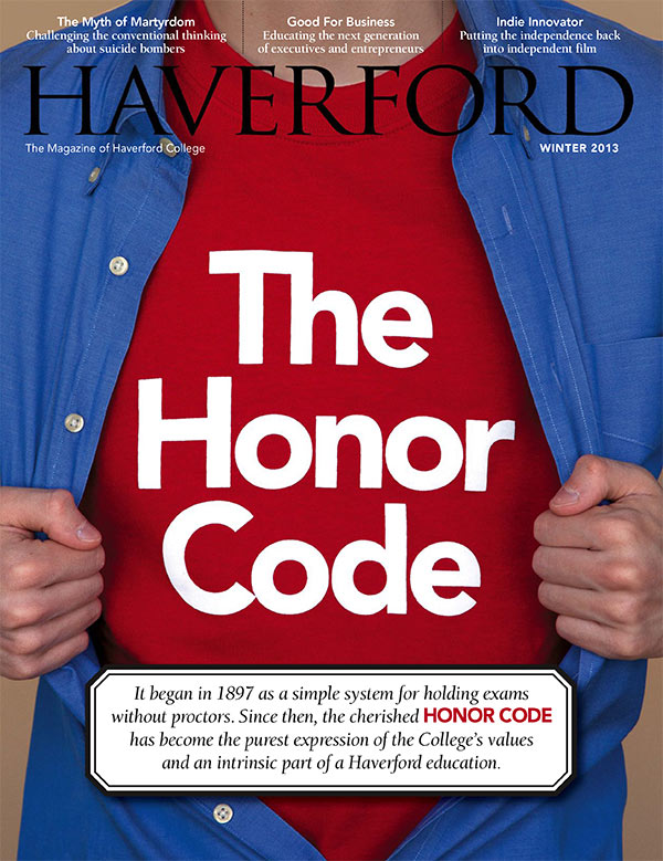 haverford college honor code essay Ap ® english language and composition visit the college board on source is not employed to support the argument for maintaining an honor code the essay.