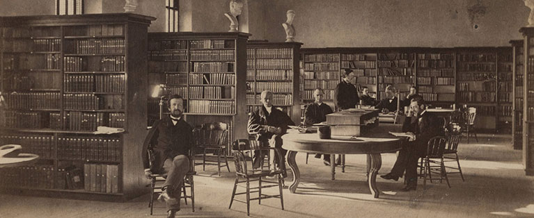 The_Library_in_1865