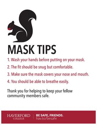 Mask Tips poster