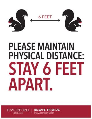 Maintain Physical Distance poster