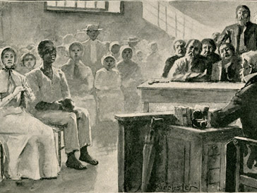 Illustration from Uncle Tom's Cabin