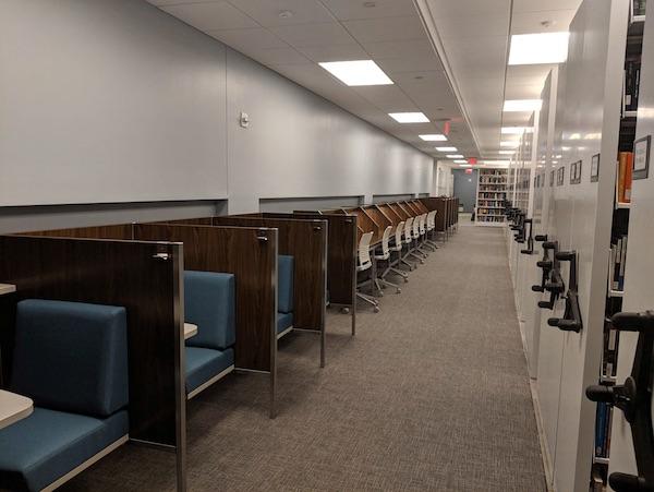 Library carrels