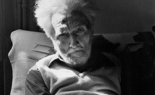 Photograph of Ezra Pound