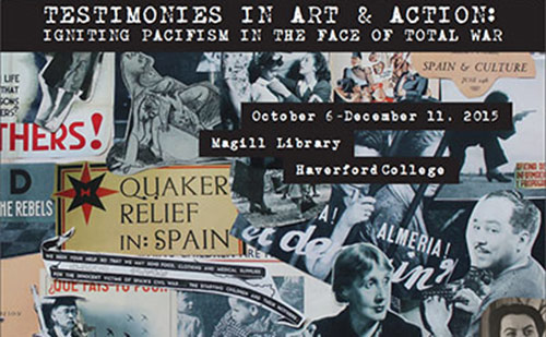 Collage of Quaker relief effort in Spain