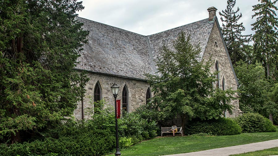 Exterior of Magill Library