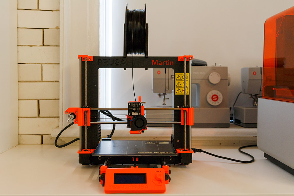 The Prusa Mk3 3D Printer is named Martin