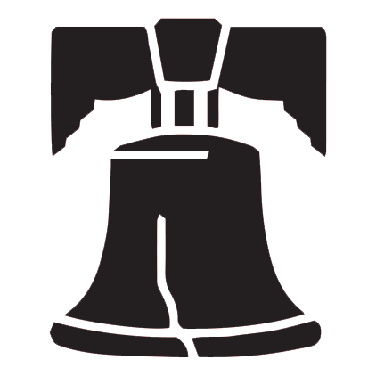Outline of the Liberty Bell