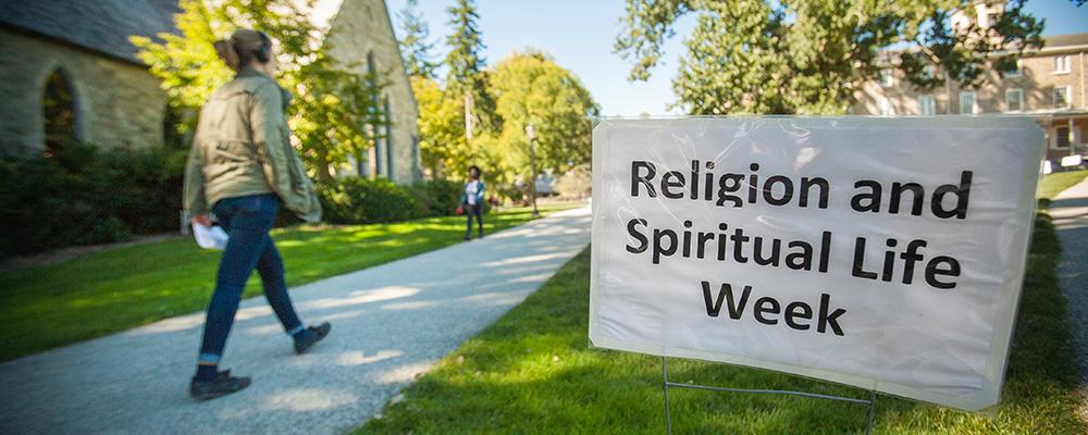 Religious & Spirtitual Life Week