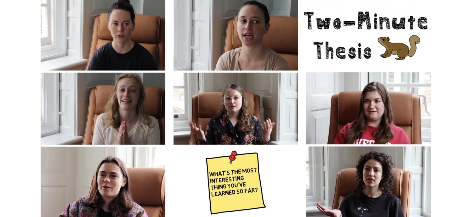 Two Minute Thesis Video Series