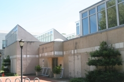 Jane Lutnick Fine Arts Center exterior