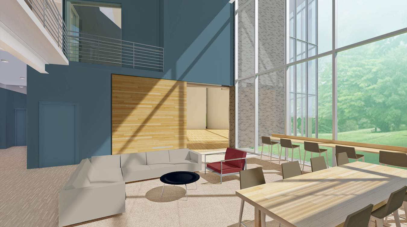 Music Building Project Renderings