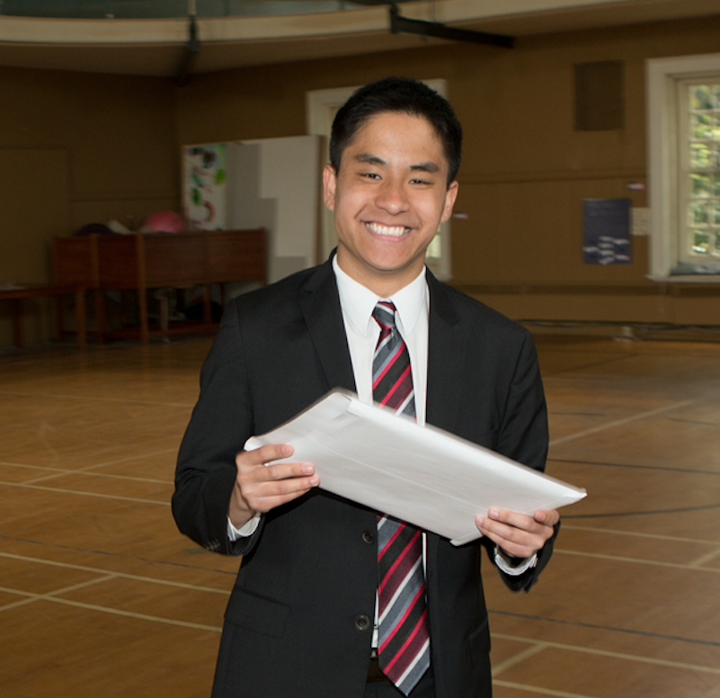 Oscar Wang '14