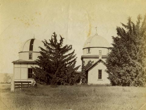 image of the Haverford observatory