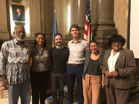 Haverford reps meet with the Mayor's Council on Afro-Caribbean Affairs
