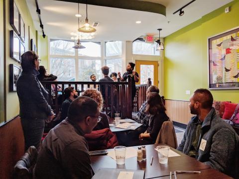 Nia Minard, EAT Cafe Community Engagement & Communications Coordinator