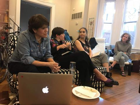 Panelists at Haverford House's film screening