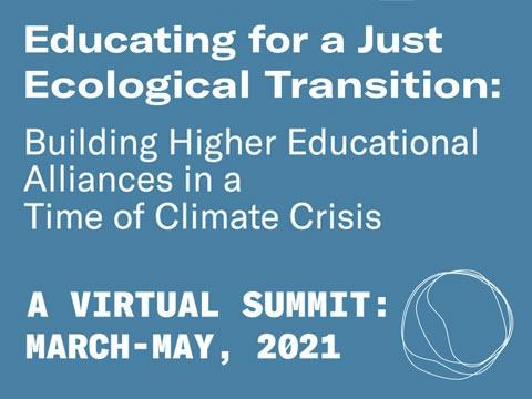 Educating for a Just Ecological Transition
