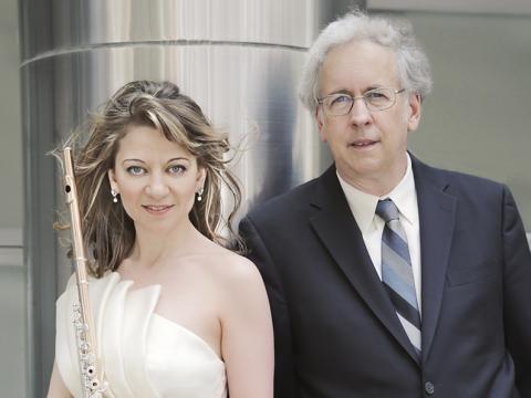 Mimi Stillman, flute, Charles Abramovic, piano