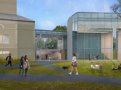 Music Building Project Rendering