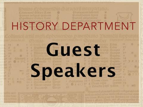 Guest speaker Sarah Mellors