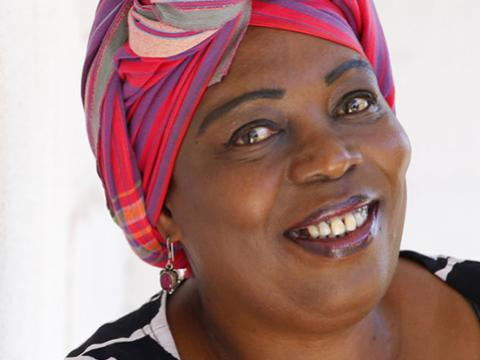Nozizwe Madlala-Routledge smiles in her headshot