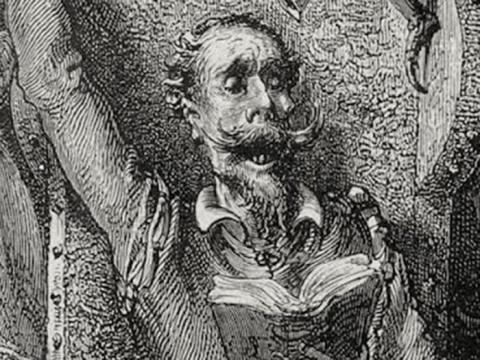 Illustration of Don Quixote