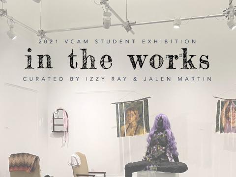 various artworks displayed in VCAM