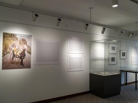 Entry wall of Romanticizing Japan exhibit