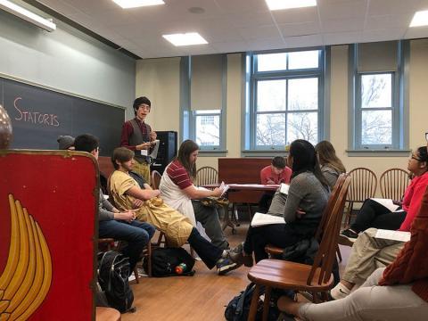 Bret Mulligan's class