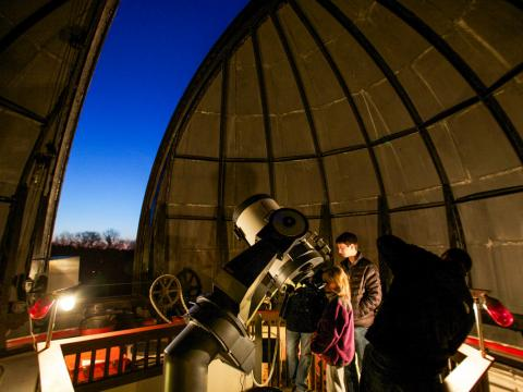 Public Observing at Strawbridge Observatory