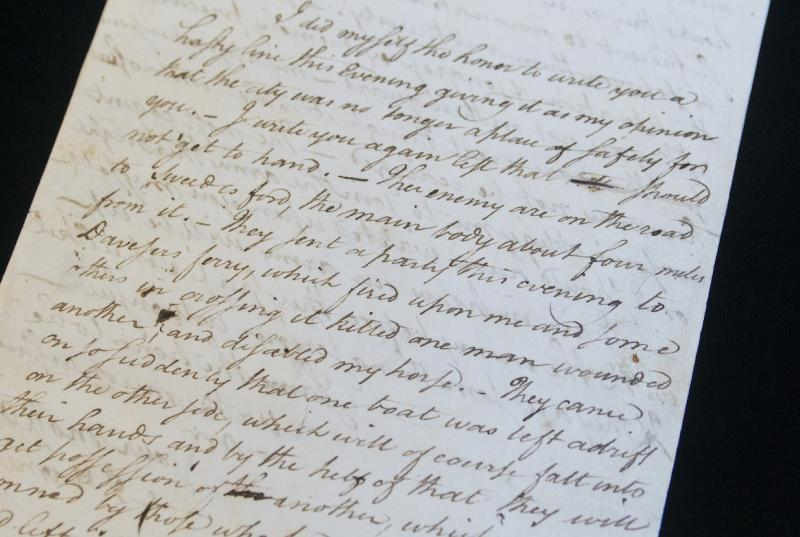 In the Collection Alexander Hamilton Letters